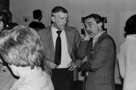 Artyści Wiesław Garboliński i Stanisław Cuchra-Cukrowski