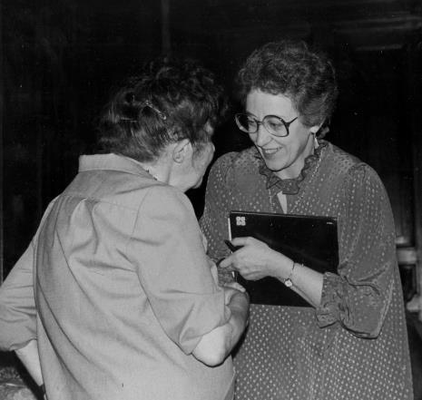 Eva Rubinstein w rozmowie z Zofią Rydet