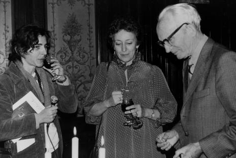 Od lewej red. Krystyna Namysłowska (Polskie Radio), Eva Rubinstein, x