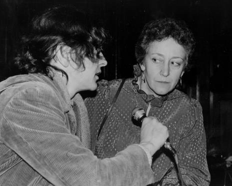Red. Krystyna Namysłowska przeprowadza wywiad z Evą Rubinstein