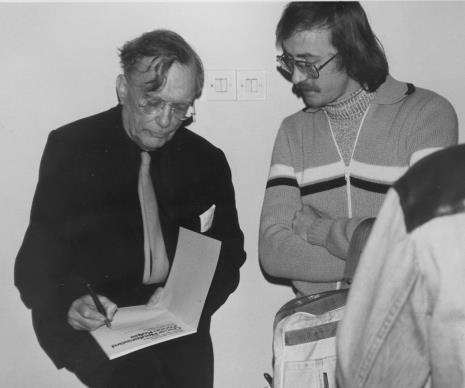 Z lewej Oskar Reutersvärd