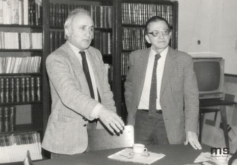 Richard Demarco i dyr. Ryszard Stanisławski (ms)