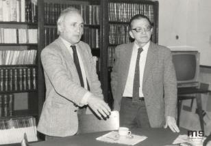 Wycieczka historyków sztuki, krytyków i artystów z Wielkiej Brytanii i USA zorganizowana przez Richarda Demarco