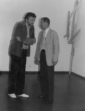 Rektorzy PWSSP w Łodzi: Krystyn Zieliński (1981-1987) i Zdzisław Głowacki (1963-1971)