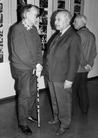 Stanisław Ibis-Gratkowski, Ryszard Brudzyński (Federacja Stowarzyszeń Kulturalnych), Eugeniusz Haneman (Łódzkie Towarzystwo Fotograficzne)