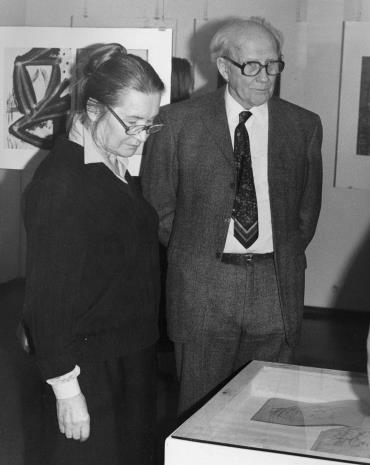 Krystyna Krygier i Roman Modzelewski