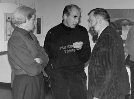 Z prawej dr Janusz Hereźniak (Uniwersytet Łódzki, Łódzkie Towarzystwo Fotograficzne)