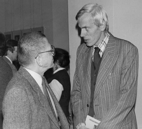 Dyr. Ryszard Stanisławski (ms) i Wiesław Juszczak (NSZZ Solidarność)