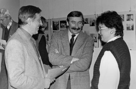 Od lewej Wiesław Juszczak (NSZZ Solidarność), Grzegorz Kacprzak (były wicedyrektor ms), Wojciech Walczak (Wojewódzki Konserwator Zabytków), Jadwiga Damazer (wicedyrektor ms)