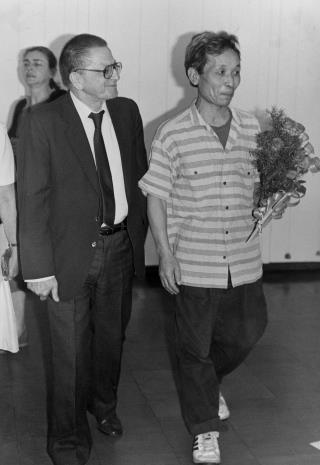Dyr. Ryszard Stanisławski (ms) i Koji Kamoji