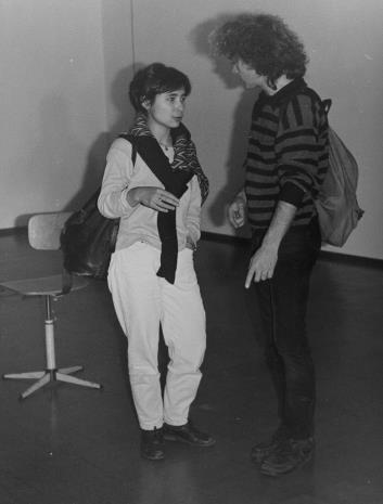 Z lewej córka artysty Beata Sachiko Kamoji