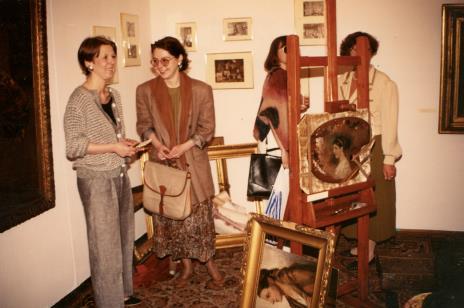 Pierwsza z lewej Katarzyna Jasińska (Dział Promocji)