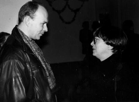 Red. Maciej Maciejewski (Dziennik Łódzki) i Anda Rottenberg (Departament Plastyki MKiS)
