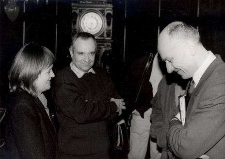 Od lewej Elżbieta Hibner (wiceprezydent Łodzi), x, dyr. Jaromir Jedliński (ms)