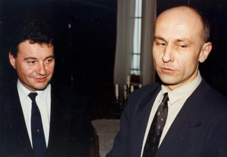 Marek Czekalski (prezydent Łodzi), dyr. Jaromir Jedliński (ms)