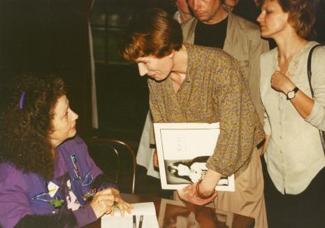 "Spotkanie z Isabelle Colin Dufresne - Ultra Violet i promocja jej książki ""15 minut sławy. Moje lata z Andy Warholem"""
