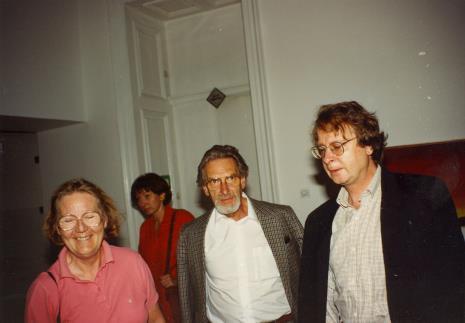 Z prawej dyr. Christoph Brockhaus (Duisburger Wilhelm Lehmbruck Museum)