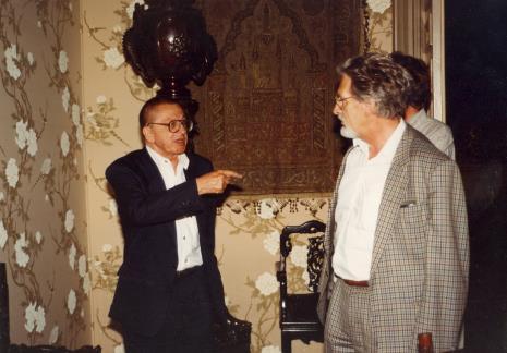 Z lewej Ryszard Stanisławski