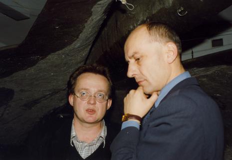 Krzysztof Bednarski i dyr. Jaromir Jedliński (ms)