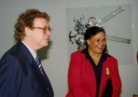Dyr. Fritz Bless (Van Reekum Museum Apeldoorn), pani Visser