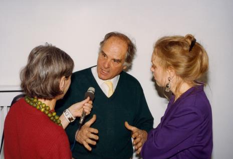 Red. Krystyna Namysłowska (Polskie Radio), Carel Visser,  Gerdie Verschoor (ambasada Holandii)
