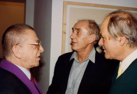 Ryszard Stanisławski, Wiesław Borowski (Galeria Foksal w Warszawie), Carel Visser