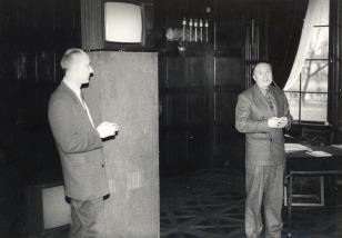 Dyr. Jaromir Jedliński i Krzysztof Miklaszewski