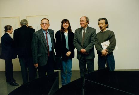 Od lewej Krystyna Krygier, x, Ryszard Stanisławski, x, Stanislav Kolíbal, Koji Kamoji