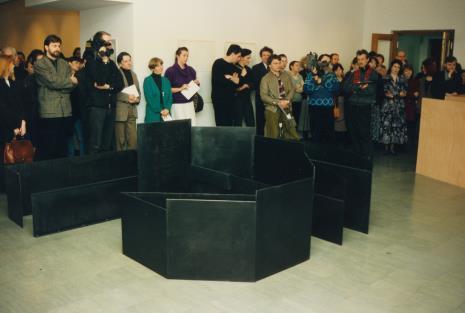 Z kamerą Dariusz Bugalski (Dział Naukowo - Oświatowy), red. Gustaw Romanowski (Rzeczpospolita), Krystyna Pawłowska (Dział Promocji), red. Beata Szuszwedyk (TVP)