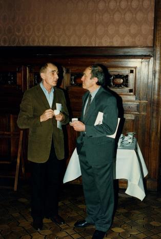 Wiesław Borowski (Galeria Foksal w Warszawie) i Stanislav Kolibal