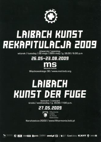 [Zaproszenie] Laibach Kunst Rekapitulacja [...]