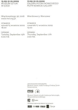 [Zaproszenie] Eduard Steinberg. List do Malewicza […]