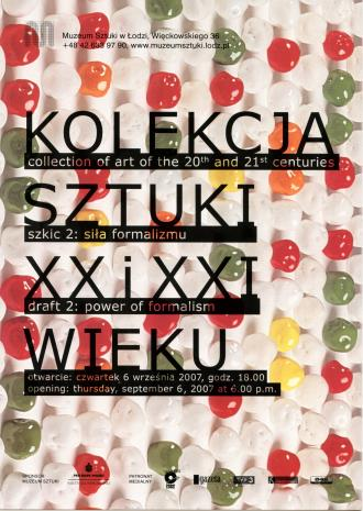 [Zaproszenie] Kolekcja sztuki XX i XXI wieku. Szkic 2: siła formalizmu. /Collection of art. of the 20th and 21th centuries. Draft 2: power of formalism.  […]