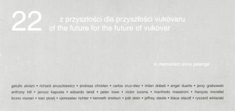 [Zaproszenie] 22 z przyszłości dla przyszłości Vukovaru. / 22 of the future for the future of Vukovar. [...]