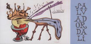 [Zaproszenie] Salvador Dali. Ilustrator, wizjoner: rysunki, grafika, książki, monety i obiekty z kolekcji Hannelore Neumann i Helmuta Rebmanna [...]