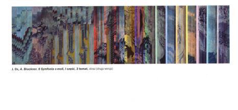 [Zaproszenie/folder] Jack Ox. Ursonate Kurta Schwittersa. Obrazowanie muzyki.