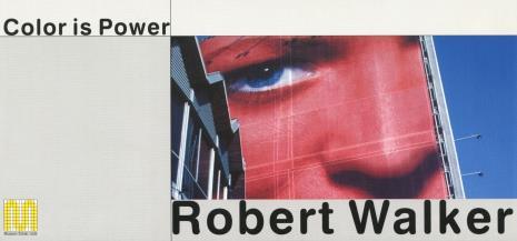 [Zaproszenie] Robert Walker. Color is power. [...]