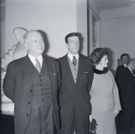 Brytyjscy goście: Lord Mayor Nottingham z żoną i sekretarzem ambasady brytyjskiej w Polsce