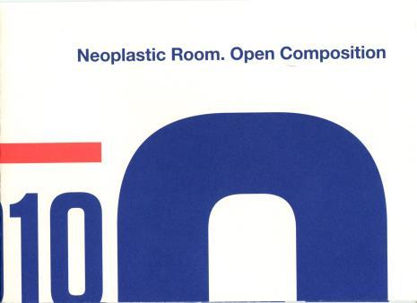[Folder/Zaproszenie] Sala Neoplastyczna. Kompozycja otwarta/Neoplastic room. Open composition. […]