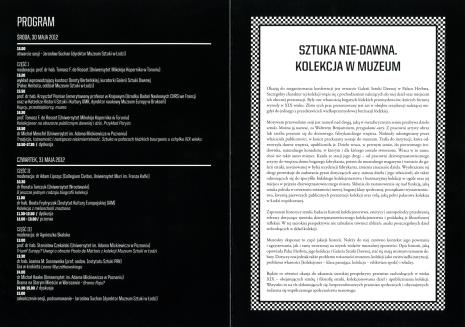 [Zaproszenie/Program] Sztuka nie-dawna. Kolekcja w Muzeum. Sesja naukowa. […]