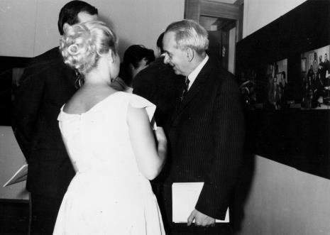 Z prawej strony Mieczysław Porębski