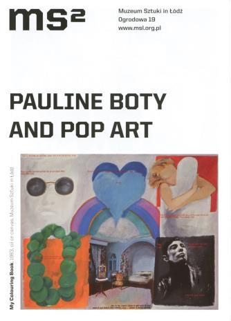 [Ulotka/Folder] Pauline Boty i Pop Art.