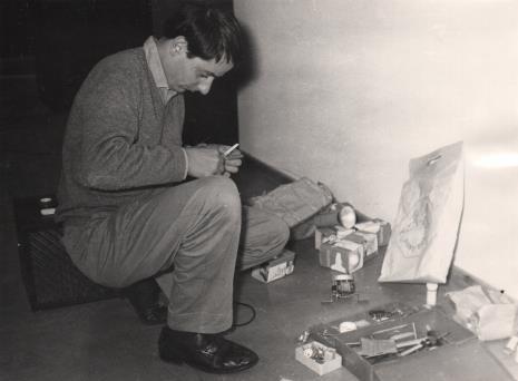 Przed otwarciem wystawy: Manfredo Massioroni