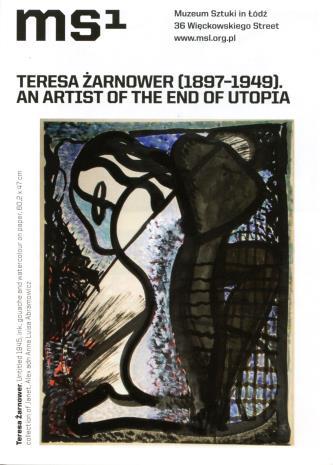 [Ulotka/Folder] Teresa Żarnowerówna 1897-1949. An Artist of the End of Utopia.