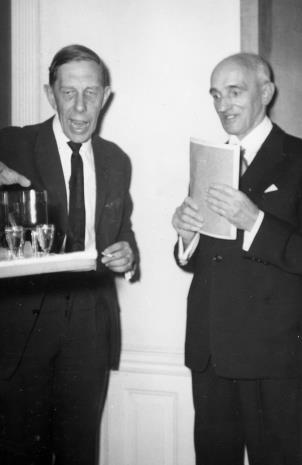 Prof. Henryk Anders i P. Bohdziewicz