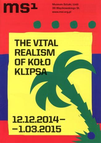 [Ulotka/Folder] The Virtual Realism of the Koło Klipsa Group.
