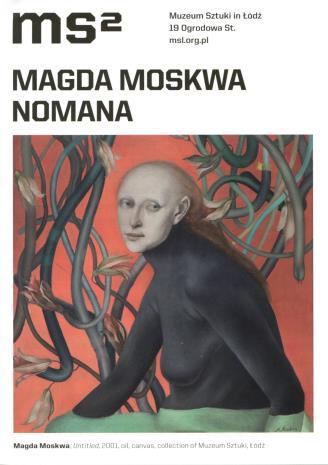 [Ulotka/Folder] Magda Moskwa. Nomana.