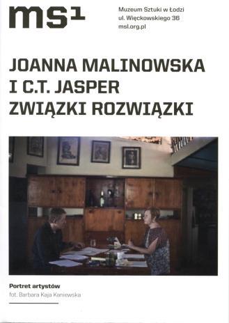 [Ulotka/Folder] Związki rozwiązki. Joanna Malinowska, C.T. Jasper.