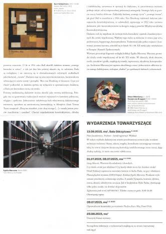 [Ulotka/Folder] DADA Impuls. Kolekcja Egidio Marzony.
