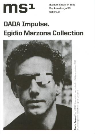 [Ulotka/Folder] DADA Impulse Egidio Marzona Collection.